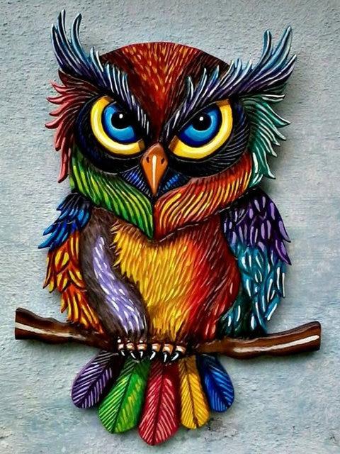 diy 5d diamond embroidery owl stickers patterns rhinestone mosaic