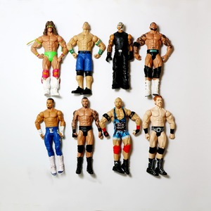 Image 3 - Wholesale 10Pcs/lot Occupation Wrestling Gladiators Movable Multi Joint Model Dolls Wrestler Action Figure toys Free Shipping