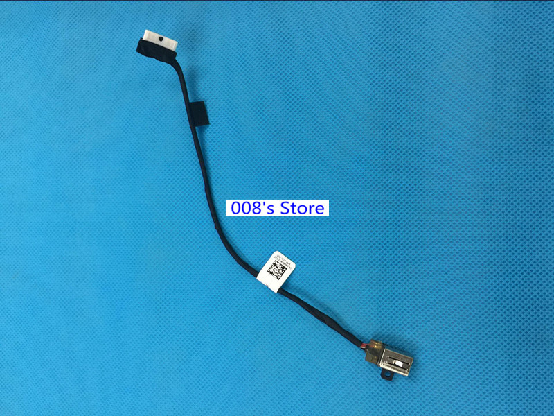 New DC Power Jack For Dell Inspiron 15 5565 5567 I5567 P66F P66F001 0R6RKM DC30100YN00 Charging Socket Harness Flex Cable