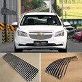 Сплав алюминиевый передний центр Гонки сетки бампер грили Заготовка решетка крышка для Chevrolet Cruze 2015
