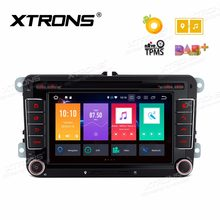 Android 8.0 Octa Core Car DVD Player GPS for VW Vento T5 Transporter Multivan Tiguan Touran Sharan Magotan Golf MK6 Caddy(China)