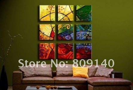 free shipping Big Size oil painting canvas modern abstract ...