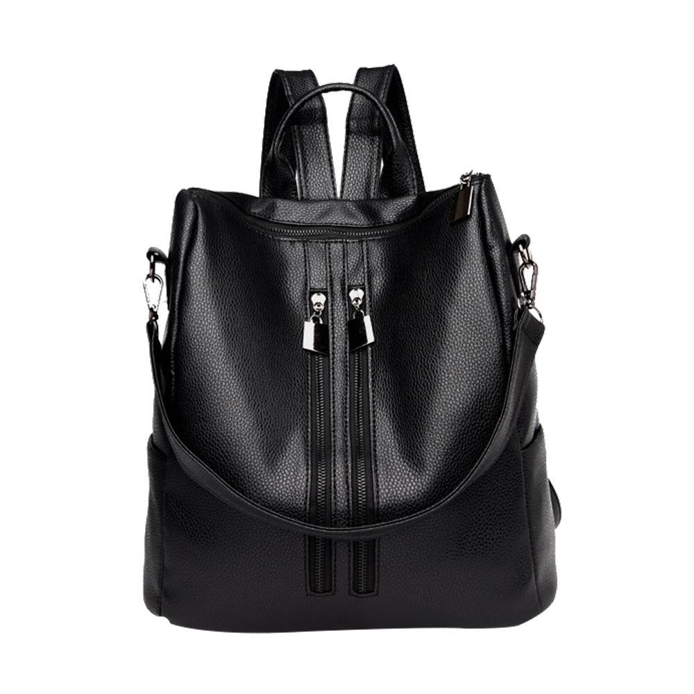 Vintage Backpack Classic Leather Backpack Women Mini Backpacks Simple Casual Schoolbag Backpacks Drop Ship Rucksack Satchel#24