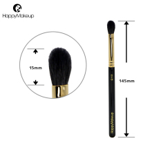 Happy Makeup Brush eyeshadow 1pcs nose highlighter blending eye shadow brush make up natural goat hair professional wood handle