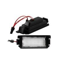 2x 18SMD светодиодный фонарь освещения номерного знака для hyundai I10 I20 tiburon coupe s III F/L2 авто-Стайлинг Замена автозапчастей аксессуары