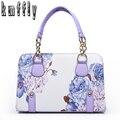 Женщины Классический цепи tote сумки печати сумка для леди bolsas feminina известный дизайнер марка сумки на ремне женщины кожаные сумки