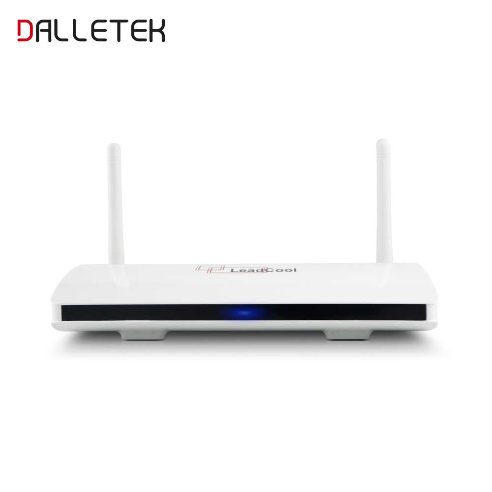 Dalletektv Smart Android 8,1 caja de TV RK3229 Quad Core 2,4 GHz WiFi Media Player Smart Box 1GB 8GB leadcool Set Top Box