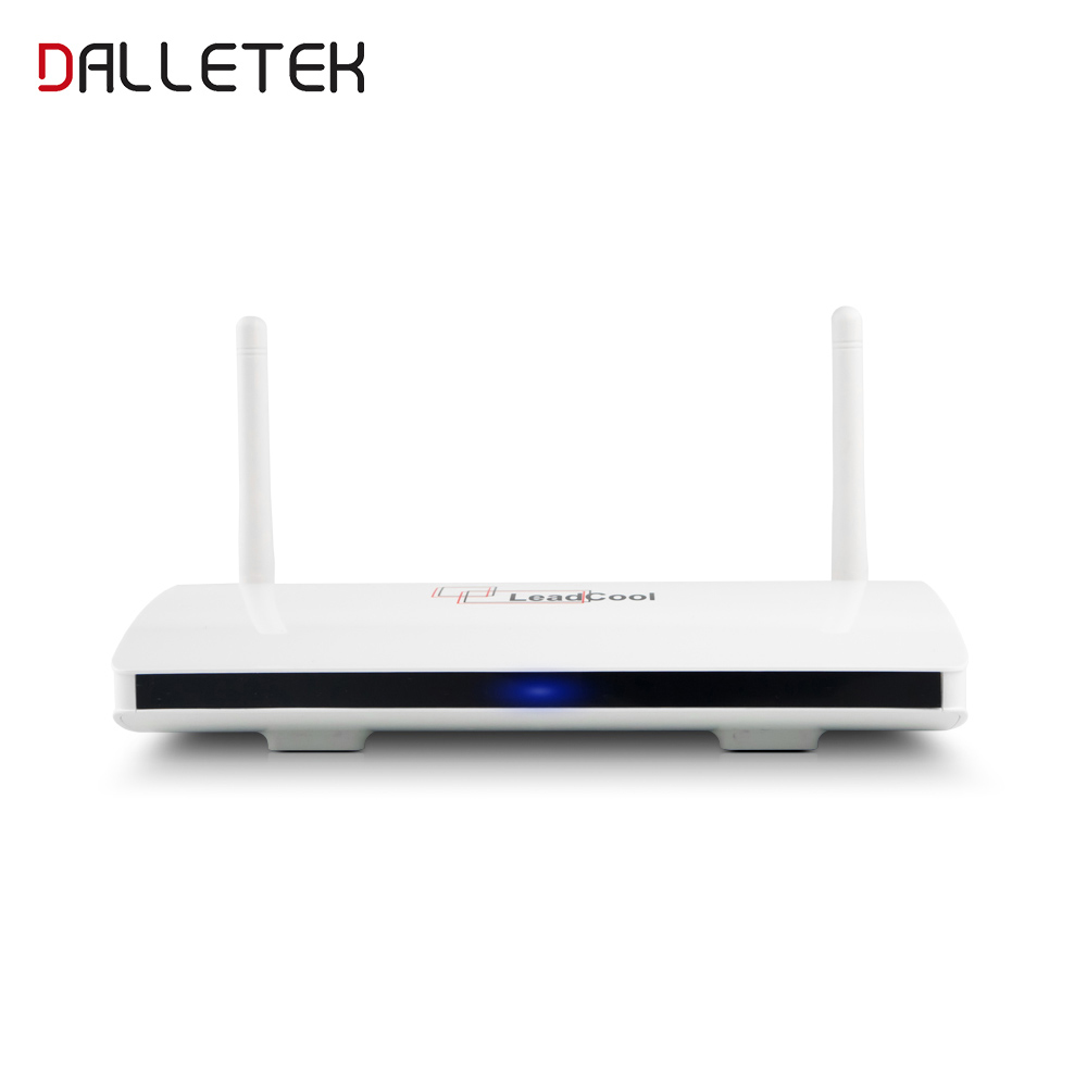Dalletektv Smart Android 8.1 TV Box RK3229 Quad Core 2.4GHz WiFi Media Player Smart Box 1GB 8GB Leadcool Set Top Box