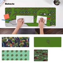 Babaite New Designs pepe meme Office Mice Gamer Soft Mouse Pad Rubber PC Computer Gaming mousepad