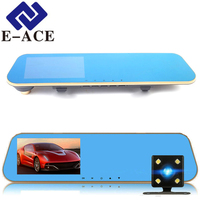 E ACE Car Dvr Rearview Camera Full HD1080P Auto Dashcam Digital Video Recorder Camcorder With 4