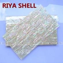 Free Shipping RIYA AAA grade natural surface yellow paua shell laminate for musical instrument and furniture inlay 10pcs/lot