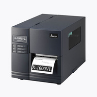 Original Argox X 1000VL Industrial Sticker Printer Machine 104mm Impresora De Etiquetas Barcode Transfer Label Printer