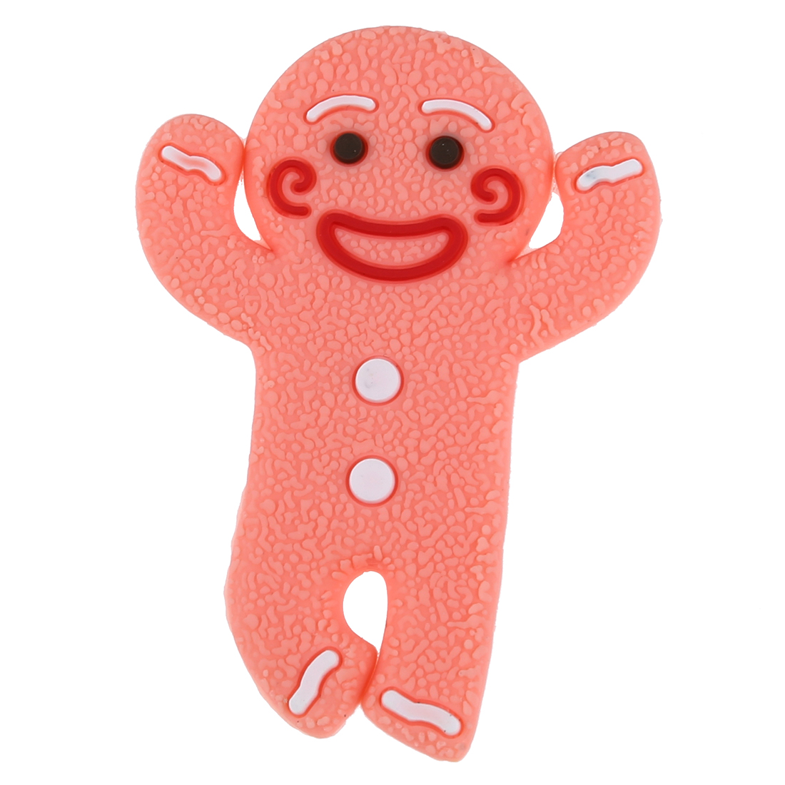 EDT-Gingerbread Man Earphone Cable Wire Headphone Winder Cord Smart Wrap Organizer