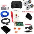 Raspberry pi 3 1 gb retropie emulação estação com kodi media center carregado 16 gb cartão micro sd