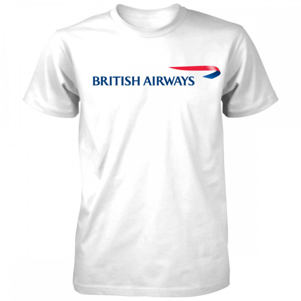 BRITISH AIRWAYS Airlines Travel T-shirt