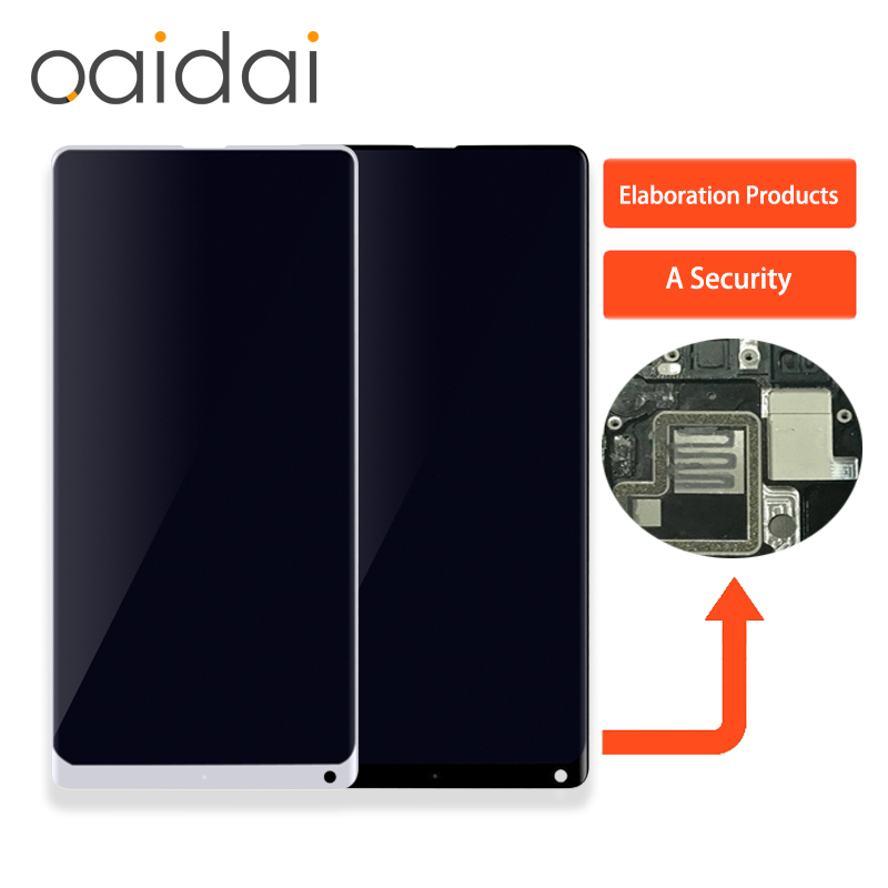 For Xiaomi Mi MIX 2 MIX2 LCD Display Touch Screen Panel Mobile Phone Lcds Digitizer Assembly Replacement Parts with Free Tools