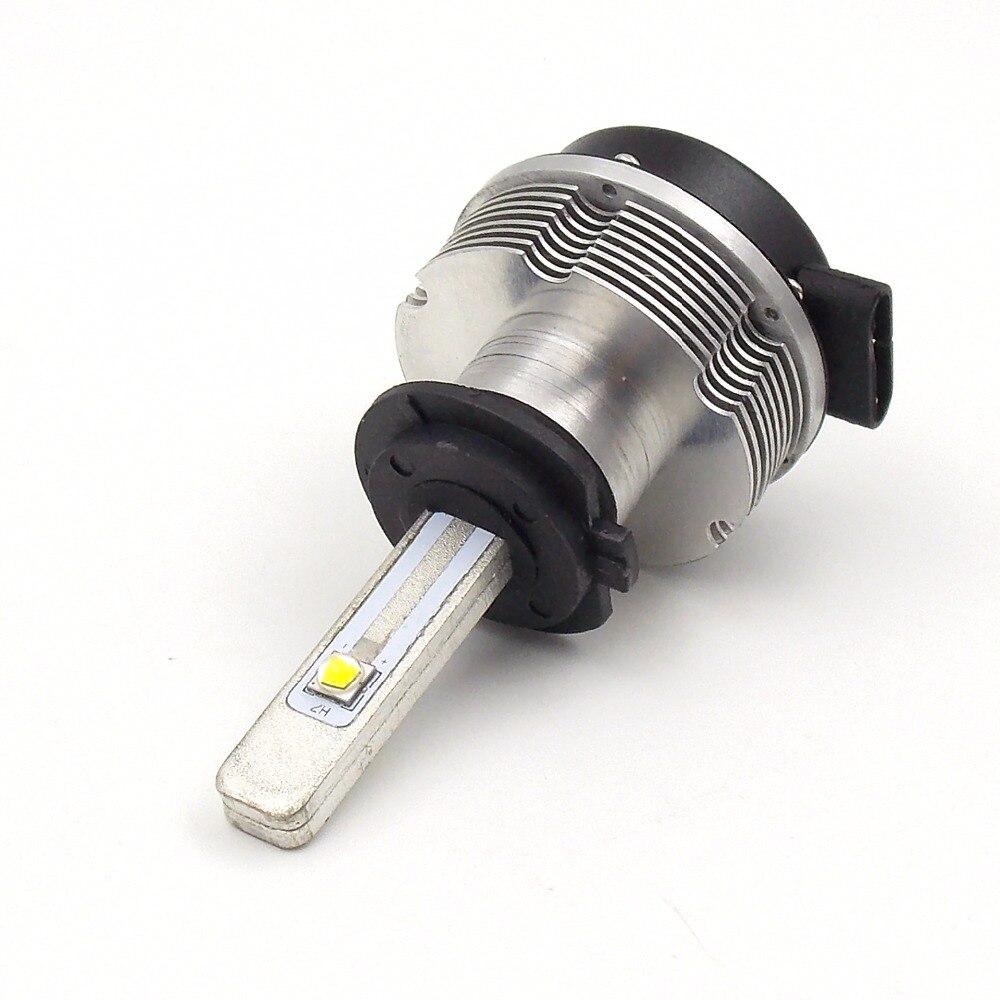 Kit de Conversion d'ampoule de phare LED de voiture de haute qualité H7 12 V 24 V 6000 K 2400LM 20 W lampe de lumière principale automatique de puce de qualité de CREE (une paire) - 3