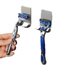 2 шт./лот, держатель для бритвы из нержавеющей стали для ванной комнаты, держатель для бритвы для мужчин, настенный держатель для бритвы, держатель для бритья, кухонный держатель для хранения