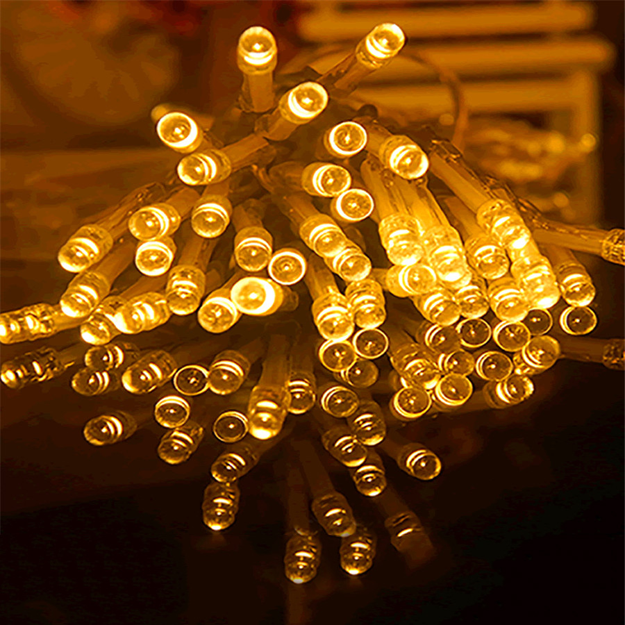 3M 30LEDs Silver String LED Lights Christamas Tree Small Lamp Pillar Stable/Twinkle Working Mode Romantic Party Home 5V