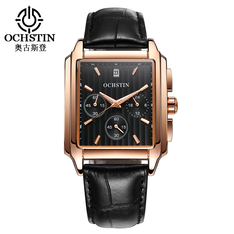 Luxury Brand  Military Watch Men Quartz Army Men Leather Strap Clock Man Sports Watches Army Relogio Square Black Exquisite new listing yazole men watch luxury brand watches quartz clock fashion leather belts watch cheap sports wristwatch relogio male