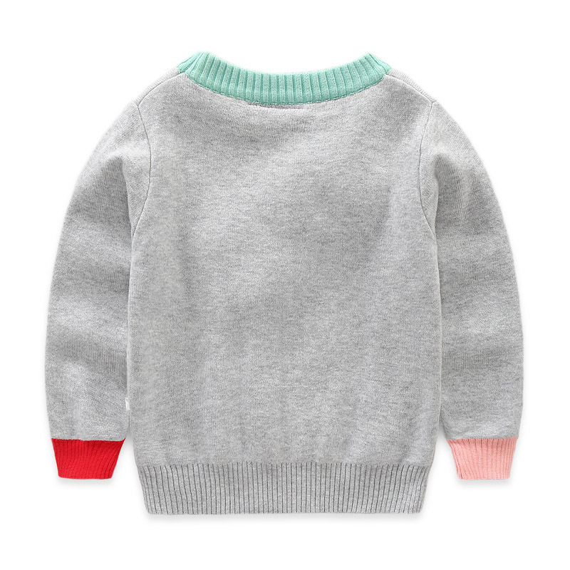 New Kids Baby Girl Sweaters Cute Clothing Boys Knitted Coat Cloud