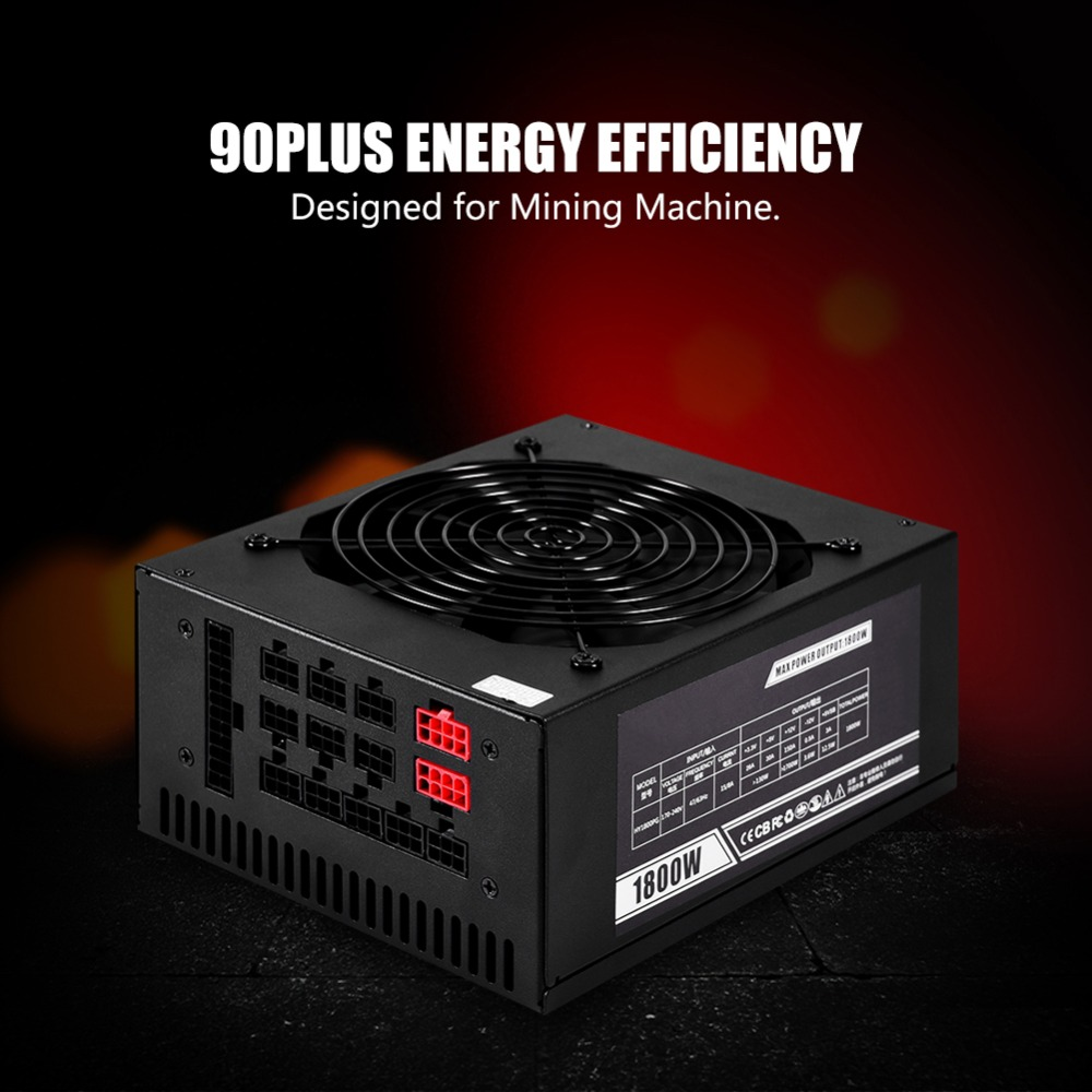 2000W Max Mining Case Power Sup