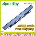 Apexway 8 células 4400 mah bateria do portátil para asus a41-x550 a41-x550a a450 A550 F550 F552 K450 K550 P450 P550 R409 R510 X450 X550