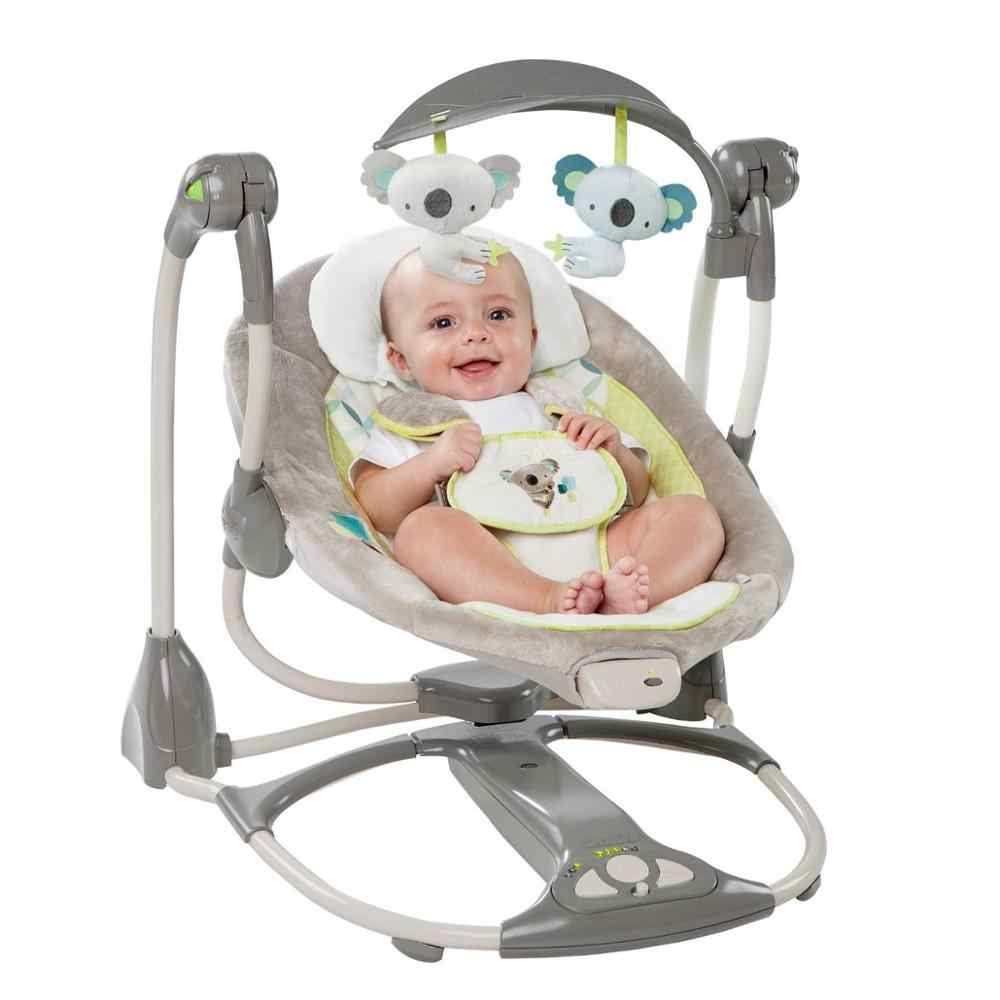 Brand Cradle Electric Baby Swing Music Rocking Chair Automatic