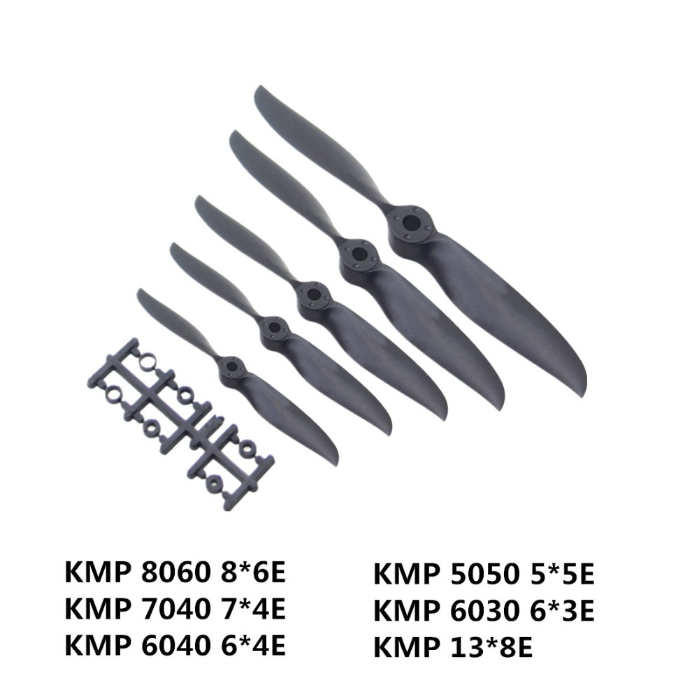 Efficient CW Clockwise Propeller Blades Paddle For KMP 13*8E/6030 6*3E/6040 6*4E/7040 7*4E/8060 8*6E/5050 5*5E Model Fixed Wing