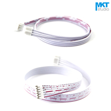 100Pcs 30cm Double PH2.0 Header AWG26 Red White Wire Cable 8P 9P 10P