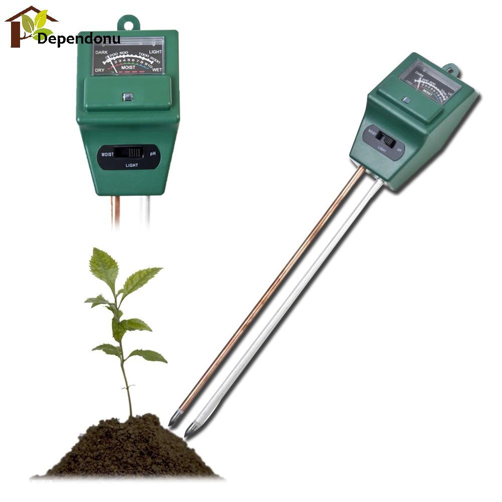 Misuratore di pH digitale 3 in1 Misuratore di umidità per acqua di - Strumenti di misura - Fotografia 4