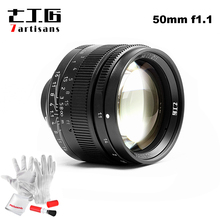 7artisans 50mm F1.1 M Mount Fixed Lens for Leica M Mount Cameras M M M240 M2 M4 M4P M5 M6 M7 M8 M9 M9P M10