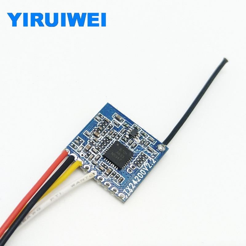 TX2400 2.4ghz Wireless Video Audio Transmitter Module 8 Channel 200MW Wireless Av Transmitter