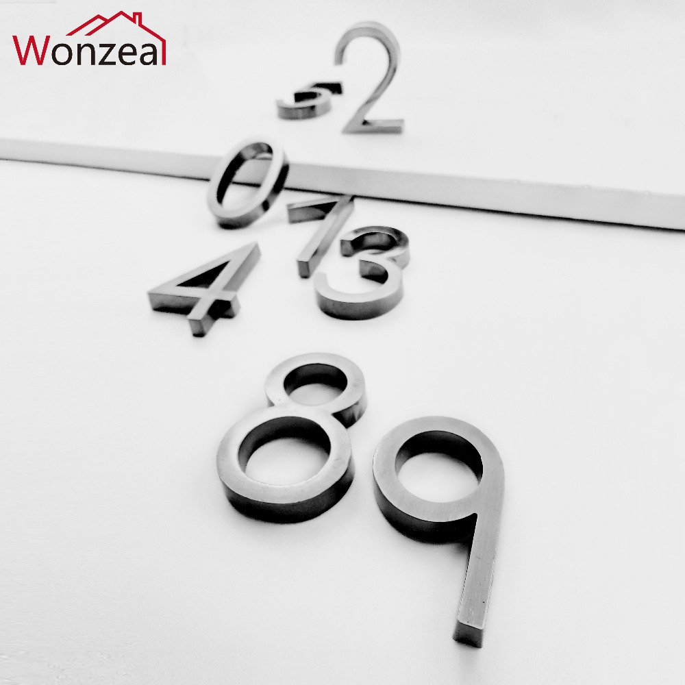 58mm 0123456789 Modern Gray color Plaque Number House Letter Hotel Door Address Digits Sticker Plate Sign ABS plastic58mm 0123456789 Modern Gray color Plaque Number House Letter Hotel Door Address Digits Sticker Plate Sign ABS plastic