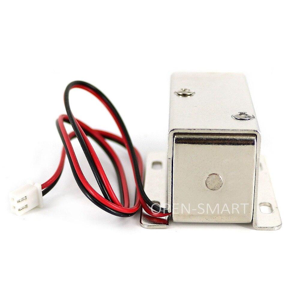 Mini DC 12 V Zugangskontrolle Elektromagnetische Verriegelung ...