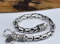 Thai Silver Bracelets 925 Sterling Silver Bracelets NM