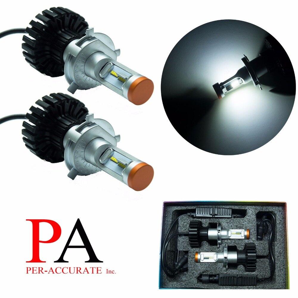 ПА вел 1 комплект х H4 9003 P43T Т1 для ЗЭС водить 160w Лампа фары комплект Лампа белый свет sourcing Н4