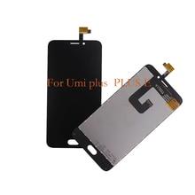 100% חדש עבור UMI בתוספת LCD תצוגת מסך מגע נייד טלפון רכיבים, עבור UMI בתוספת E מסך LCD החלפת חלקי תיקון
