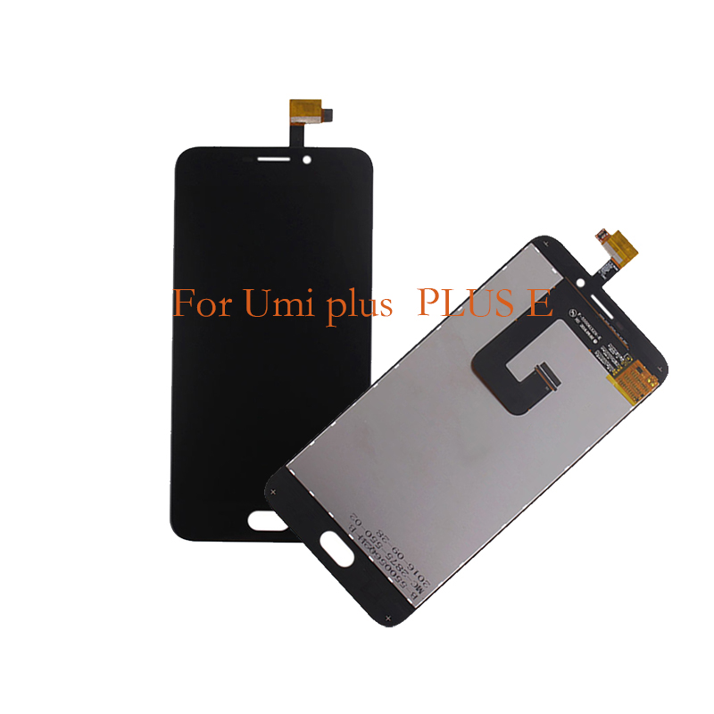 100% new for UMI plus LCD display touch screen mobile phone components,  for UMI plus E screen LCD replacement repair parts-in Mobile Phone LCD Screens from Cellphones & Telecommunications