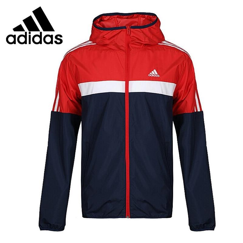 Original New Arrival 2018 Adidas M WB CB HOOD JK Men s jacket Hooded Sportswear