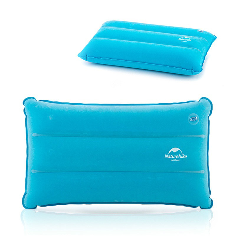Image 5 - Naturehike Outdoor Inflatable Camping Mat Sleeping Pillow Folding Non slip Suede Fabric Mat for Camping & Hiking-in Camping Mat from Sports & Entertainment