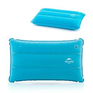 Image 5 - Надувной туристический коврик Naturehike, Подушка для сна, складной нескользящий, из замши, для отдыха на открытом воздухе, походов