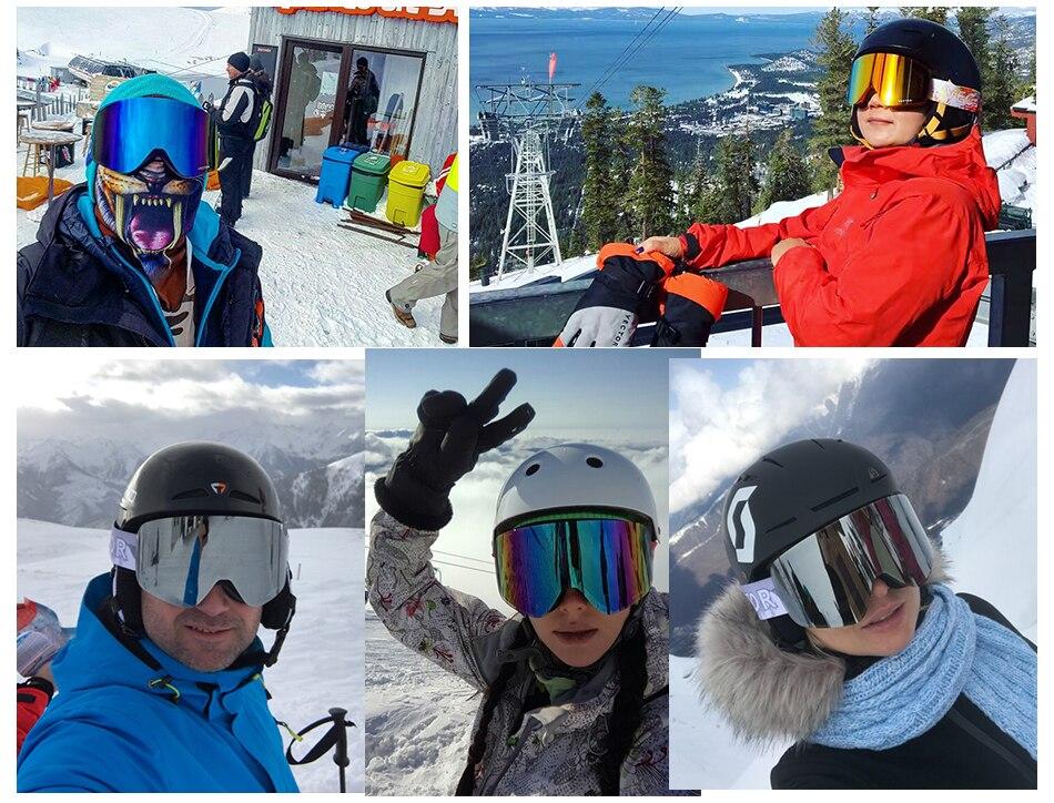 Óculos de esqui