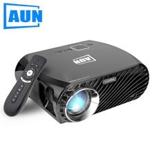 АУН SimpleBeamer Проектор GP100/Pro 3200 Люмен 1280*800 (Опционально Android 6.0 Проектор с Air Mouse, WI-FI, Bluetooth)