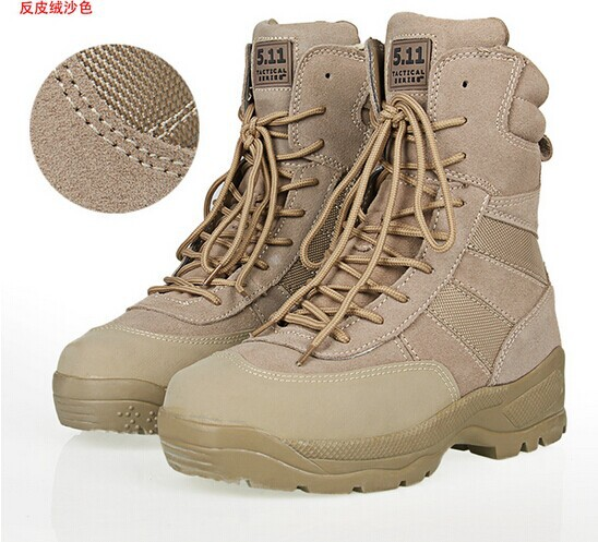 Online Shop Tall boots outdoor hiking shoes desert boots jungle ...