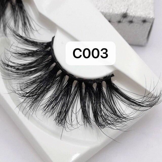 NEW Length 30mm Mink Eyelashes False Eyelashes Crisscross Natural Fake lashes Makeup 3D Mink Lashes Extension Eyelash Beauty 3