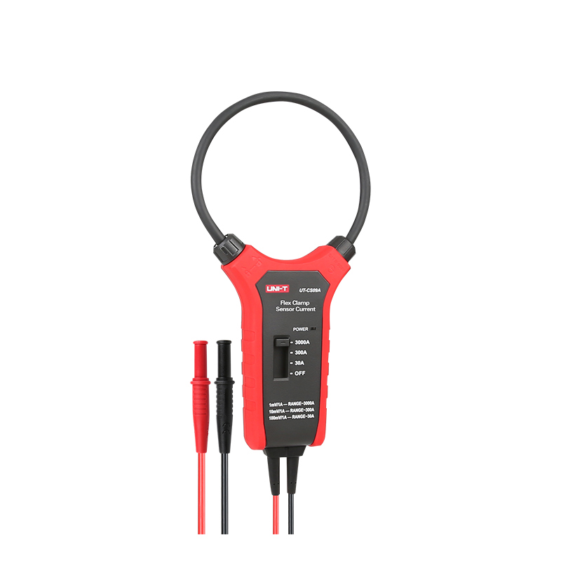UNI-T UT-CS09A Flex Clamp Sensor High Current Flexible Sensor 1.5A ~ 3000A High Flexible AC Current Oscilloscope Probe Test