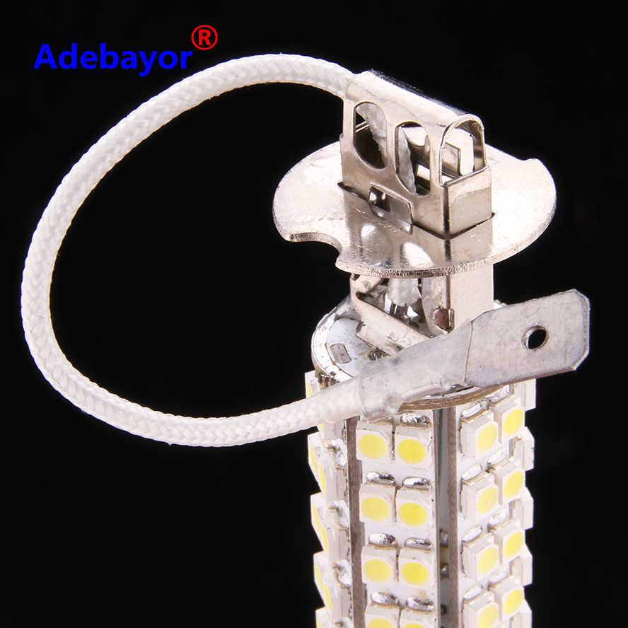 10 шт./лот H3 68 SMD светодиодный Авто Стоматологическая лампа противотуманная фара парковочный сигнал свет фар Светодиодные лампы 12 V белого цвета; оптовая продажа; Бесплатная доставка