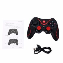 Bluetooth Gamepad Wireless Joystick Joypad Gaming Controller Remote Control For Tablet PC For Android Smartphone With Holder(China)
