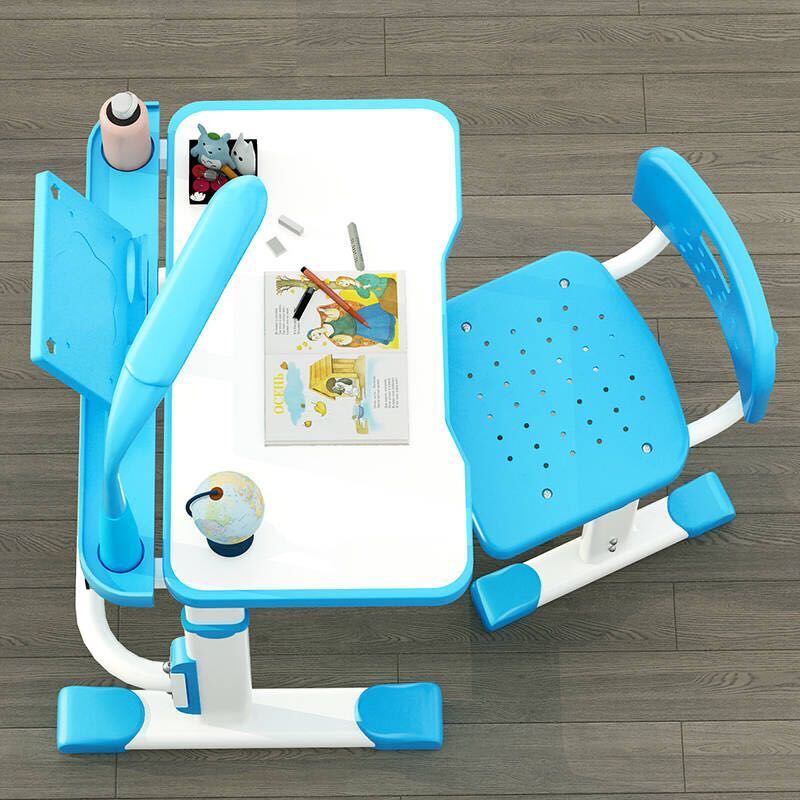 3C Children Learning Set with LED Lithium Battery Light 4 to 5 H Warm Cold Natural Matte Table Chair for 3 to 18 Years Old